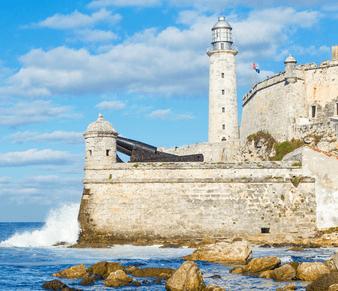 Castillo de los Tres del Morro Havanna