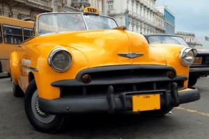 Ein Kubanisches Taxis.